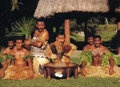 Kava Drinking Ceremony, Fiji Islands